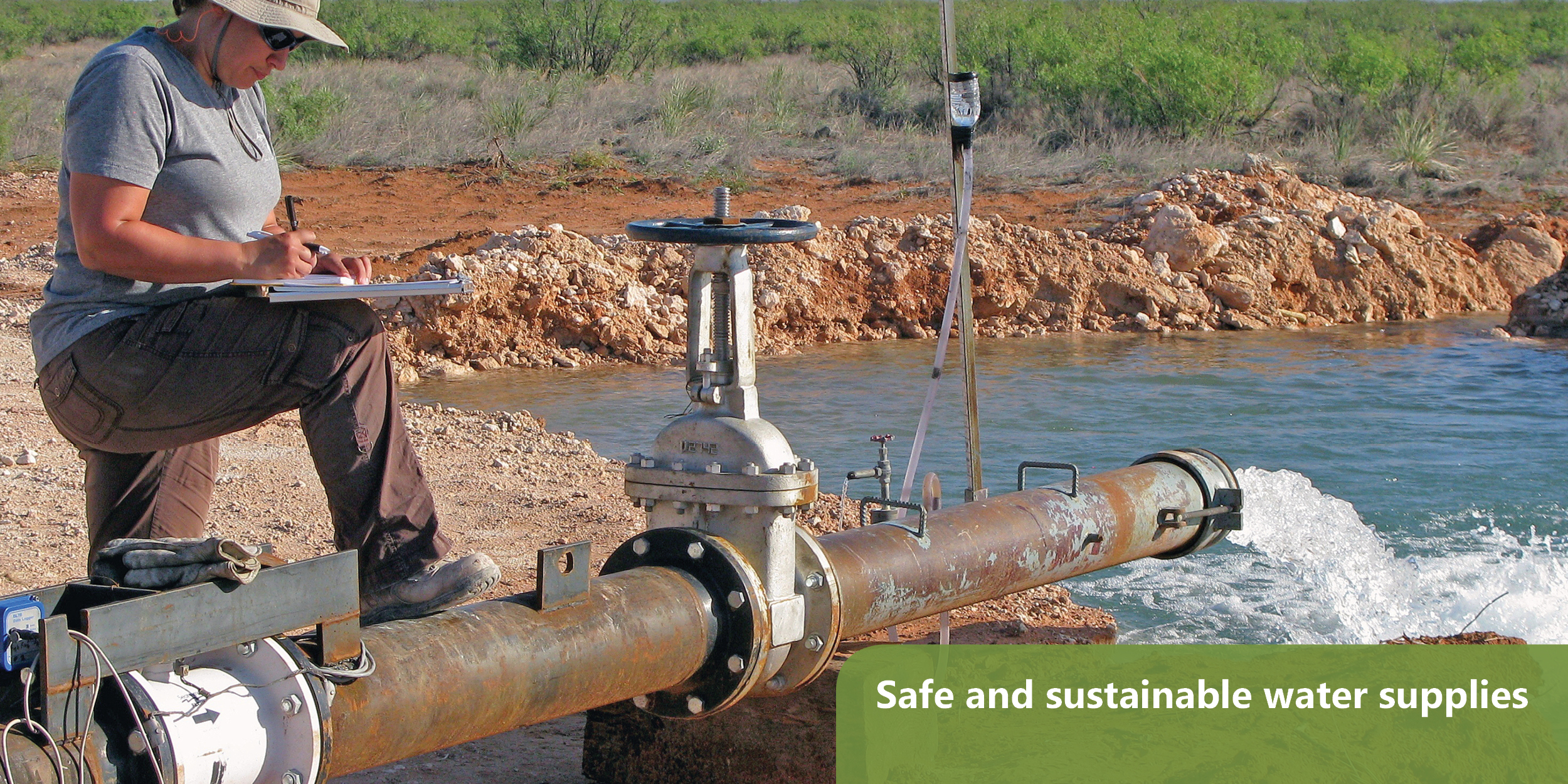 Safe and sustainable water supplies