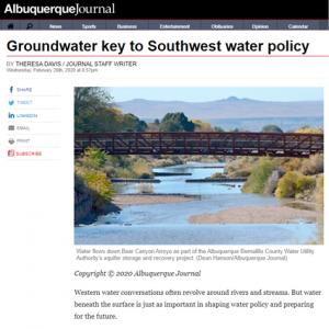 Albuquerque Journal Article