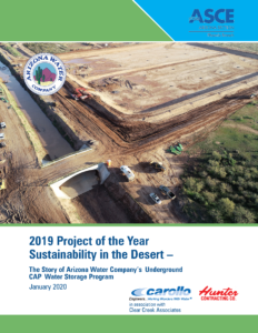 Arizona Section of the American Society of Civil Engineers' Project of Year award.